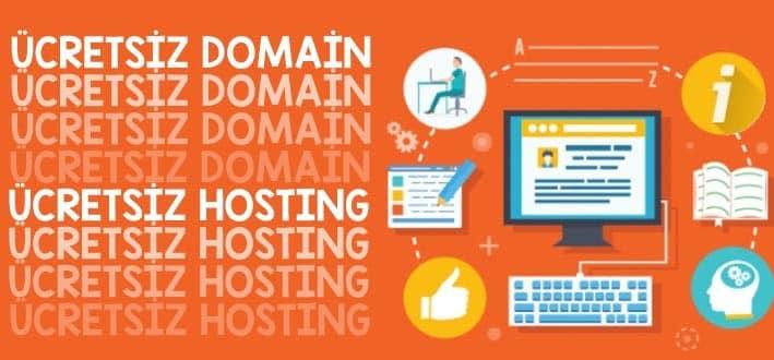 Ücretsiz Hosting ve Domain